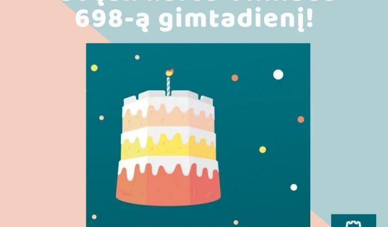 698-tas Vilniaus Gimtadienis