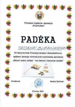 Paroda - Keturi metų laikai-tai keturi Lietuvos veidai