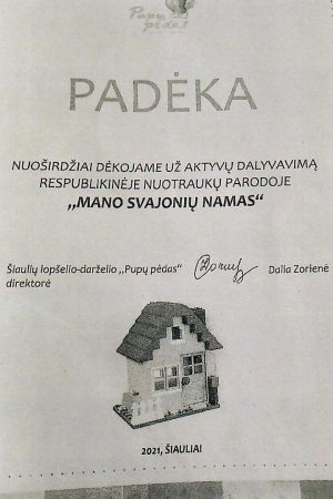 Paroda - Mano svajonių namas